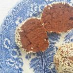 kakaowe pralinki z fasoli, bez cukru