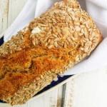 chleb na zakwasie ze słonecznikiem