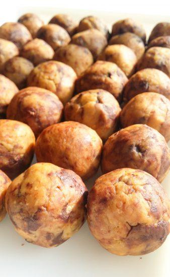 Ciasteczkowe kulki z cieciorki z czekoladą_2