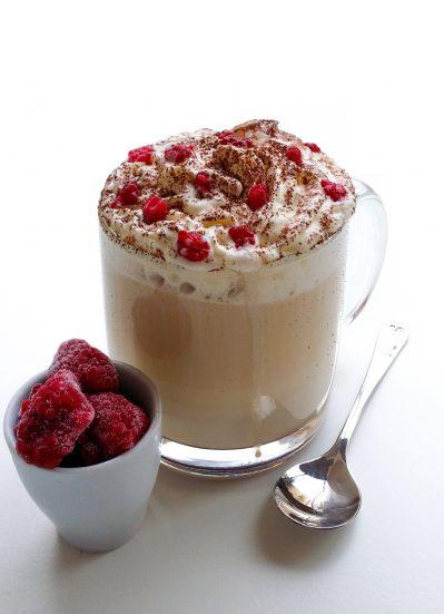 Jeżynowe latte