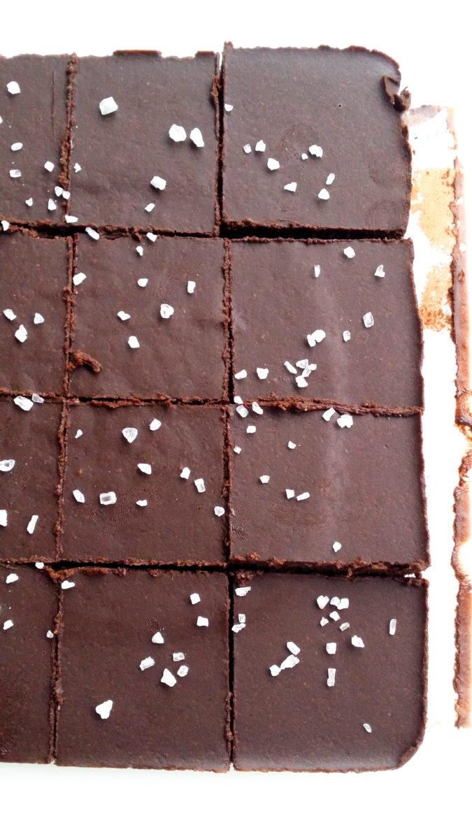 czekoladowy blok ciągutkowy