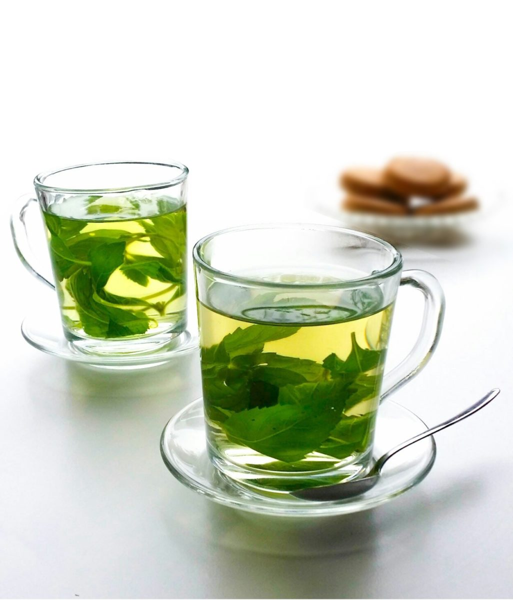 Herbata ze świeżej mięty