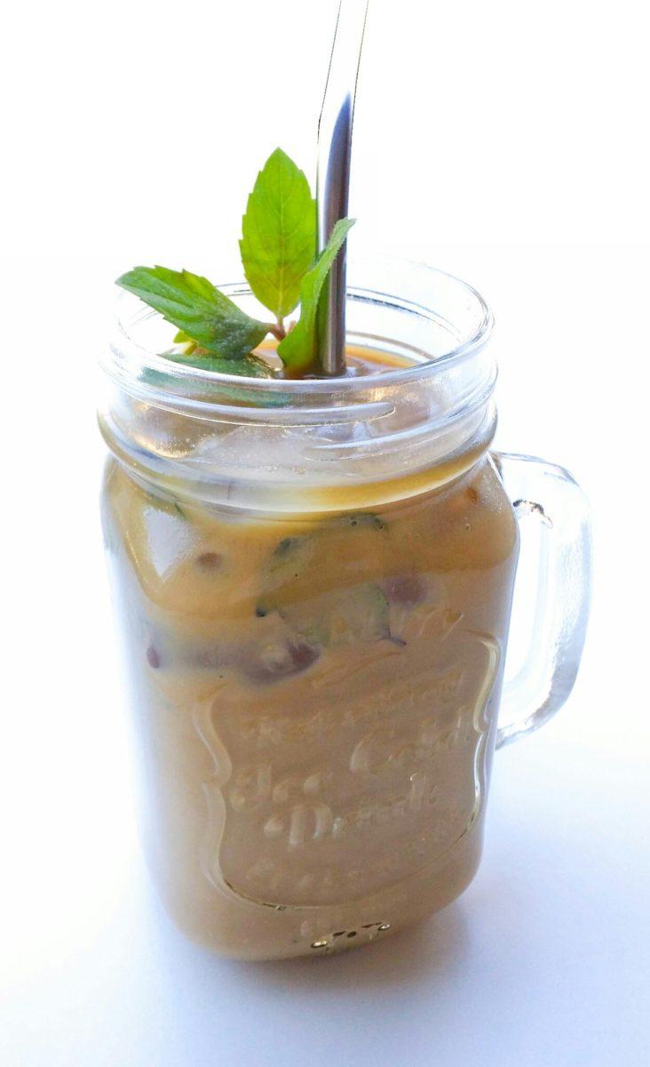 Mrożona kawa mojito