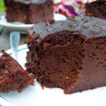 brownie z czerwonej fasoli