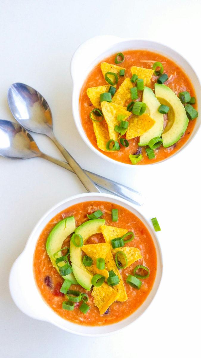 zupa enchilada z kurczakiem