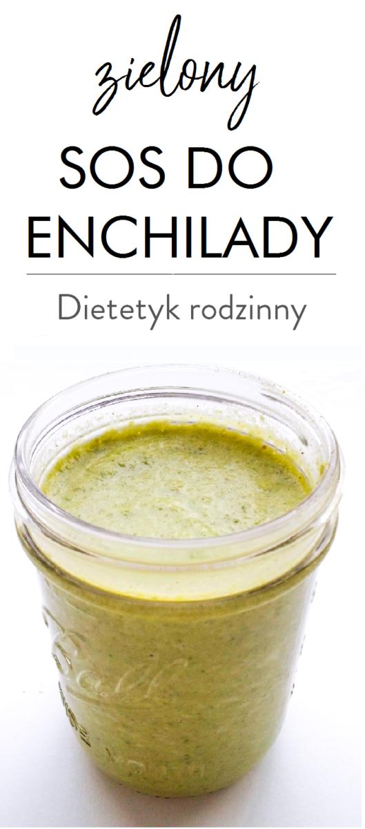 zielony sos do enchilady