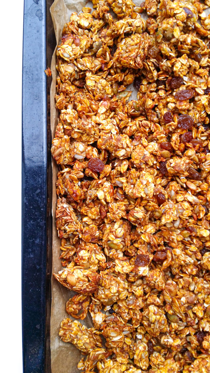 granola z dynią
