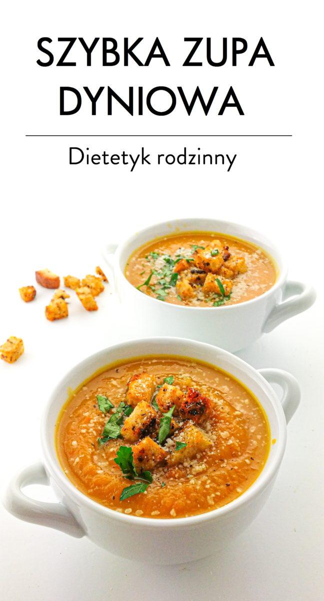 szybka zupa dyniowa