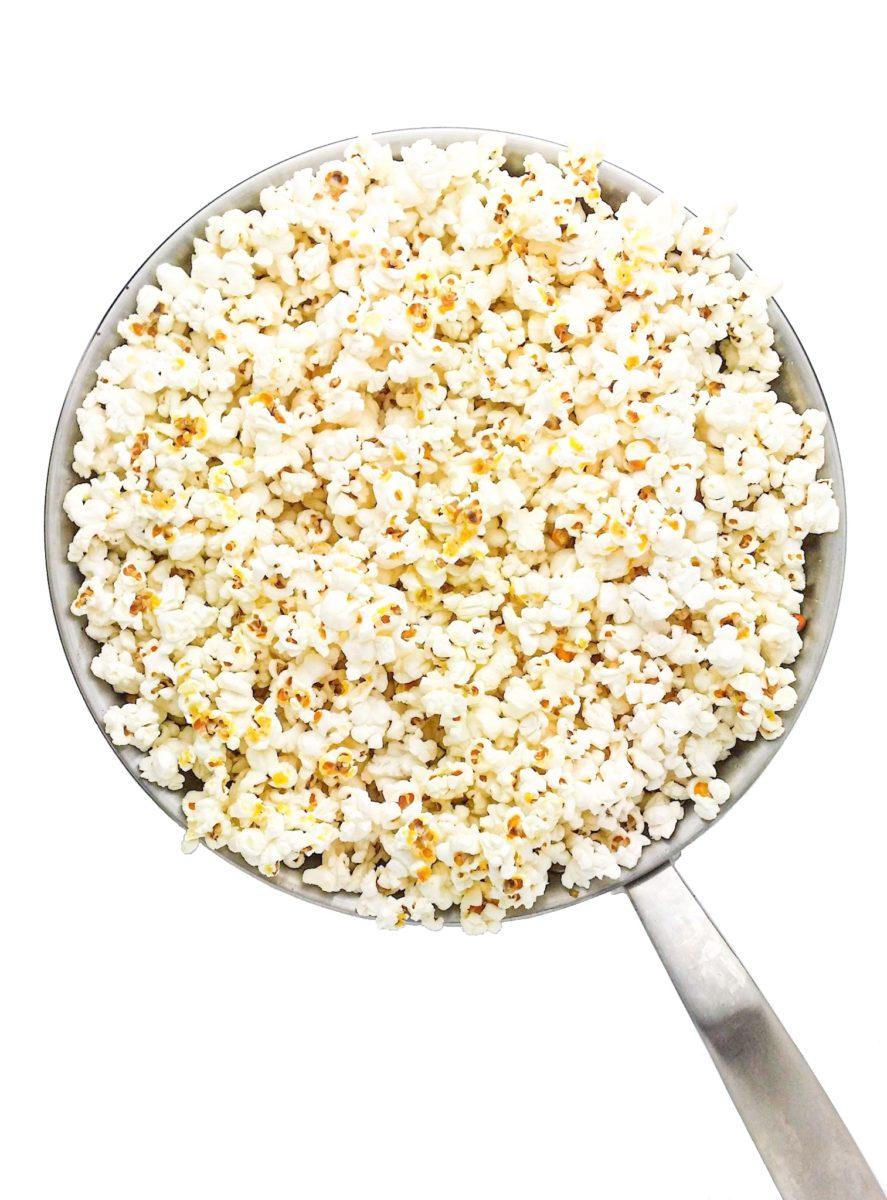 wegański nooch popcorn