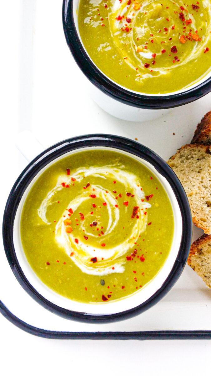 szybka zupa krem z porów