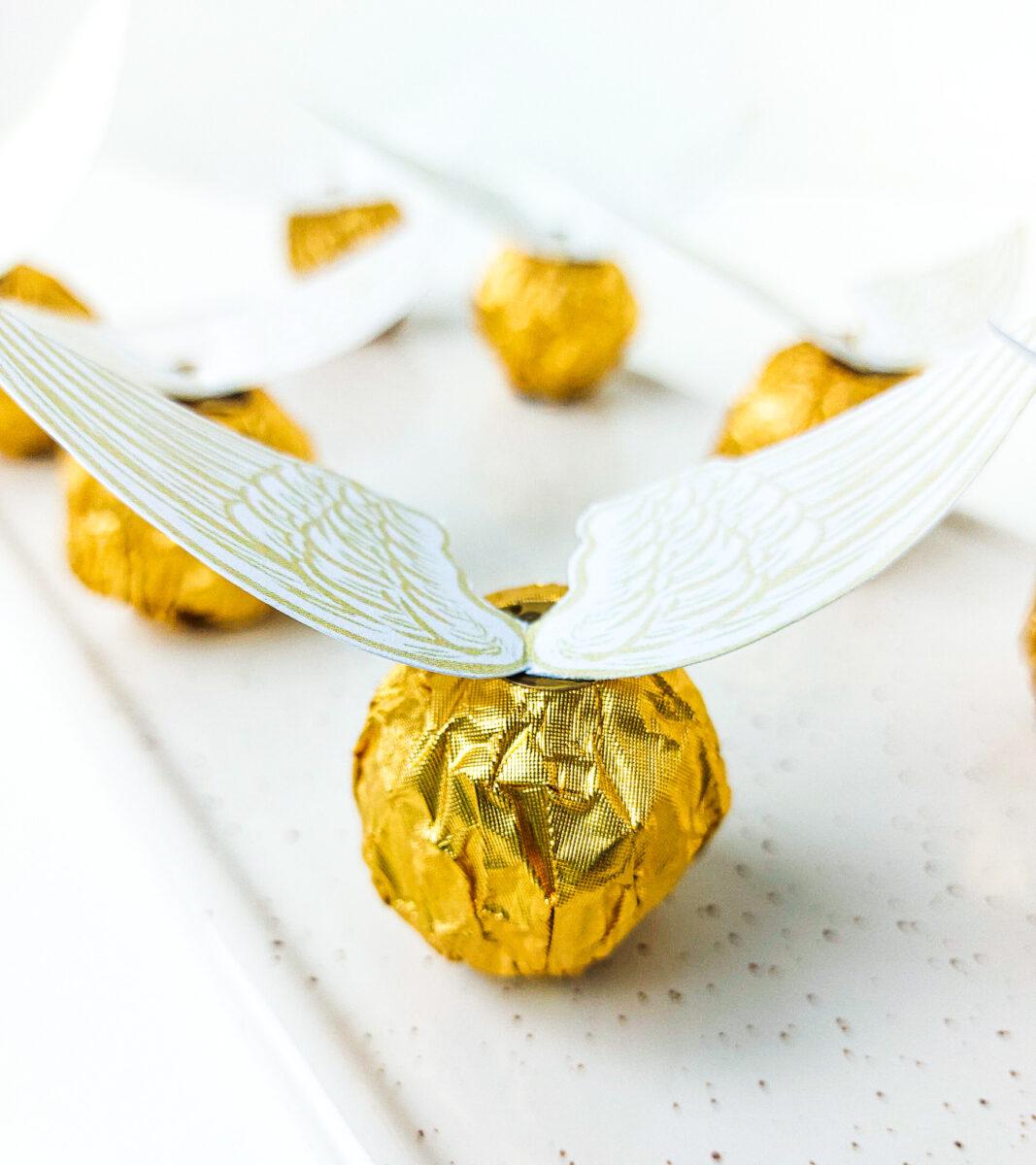 złote znicze z Quidditcha