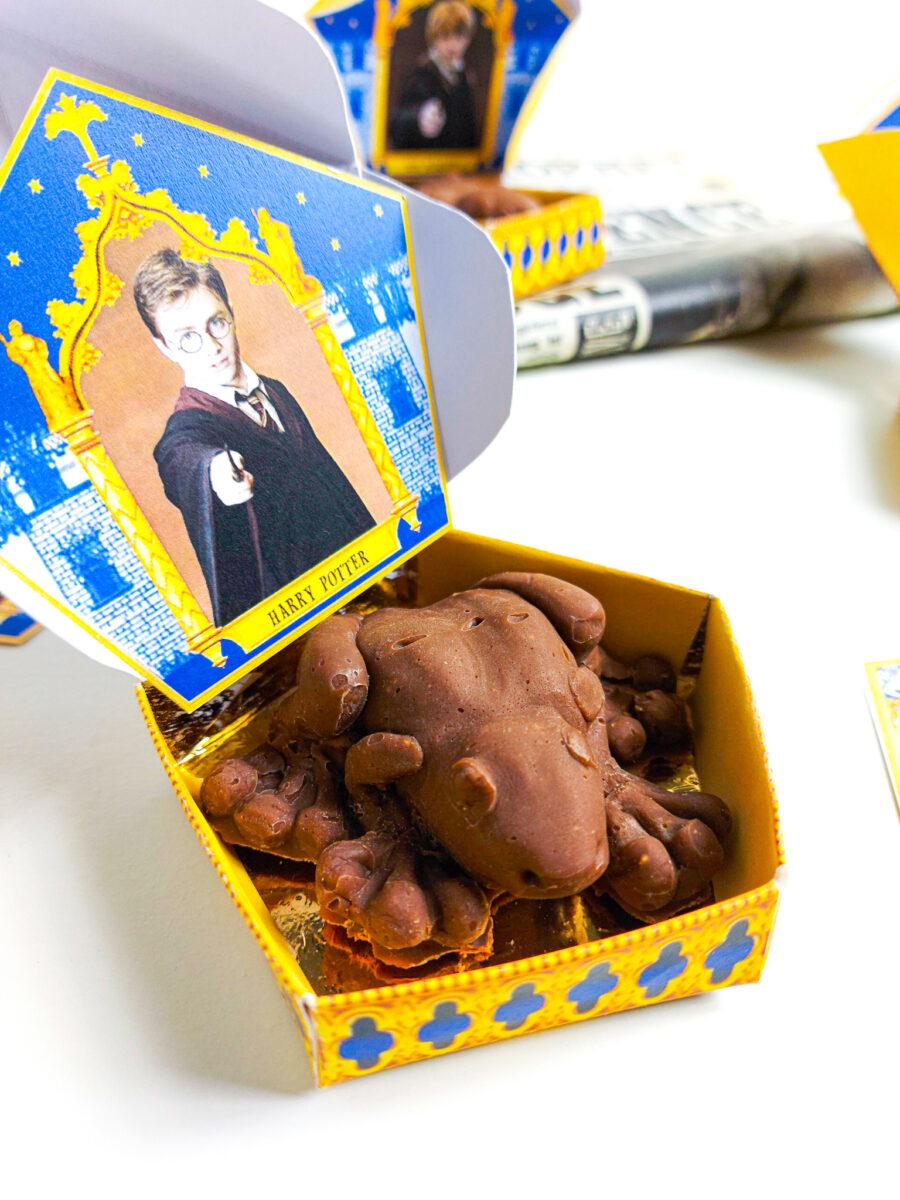 czekoladowe żaby haryego pottera