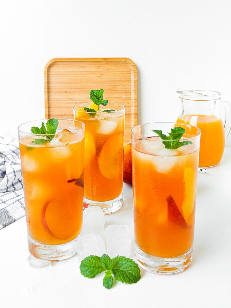 brzoskwiniowa iced tea