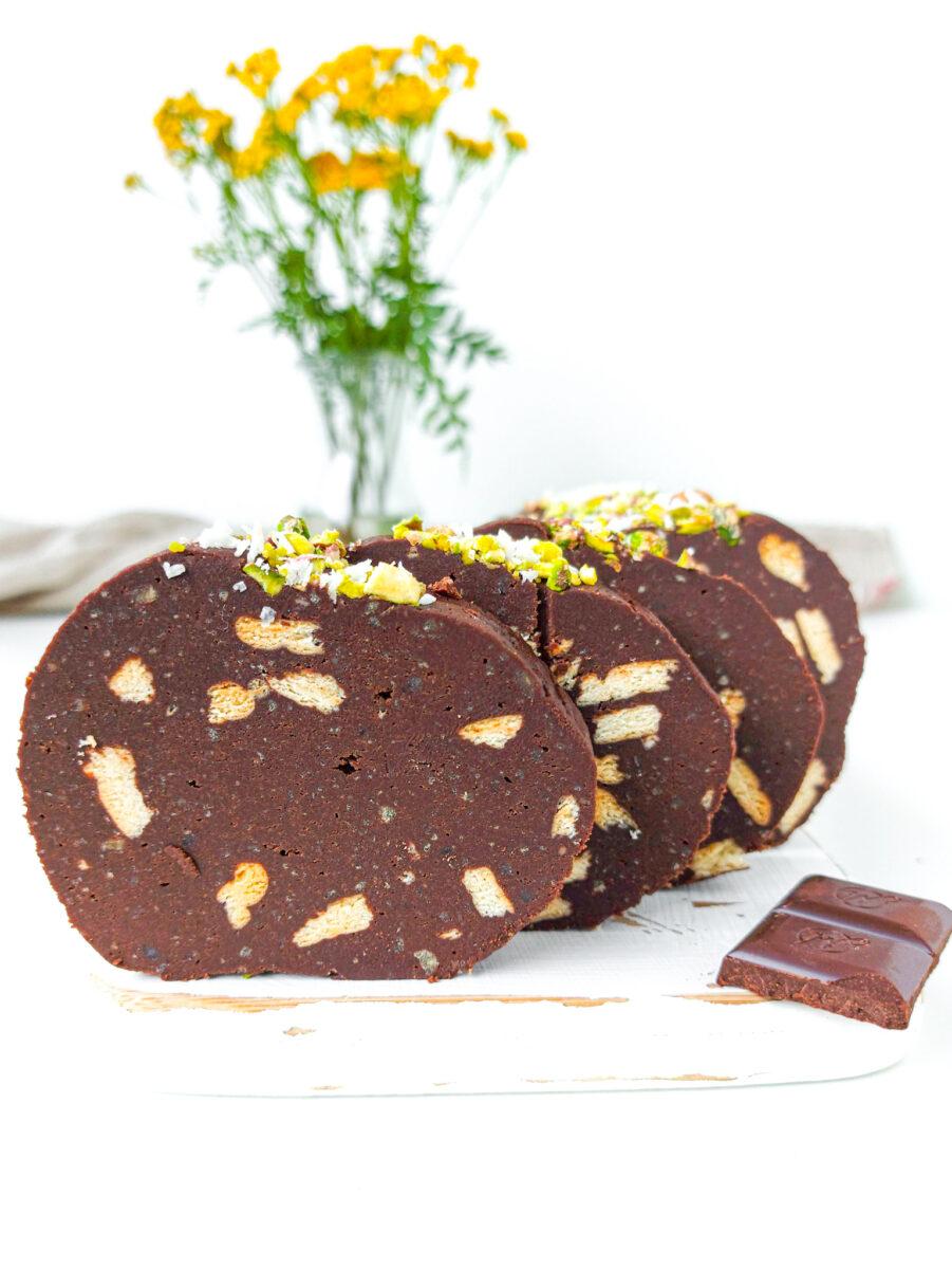 blok czekoladowy z cieciorki